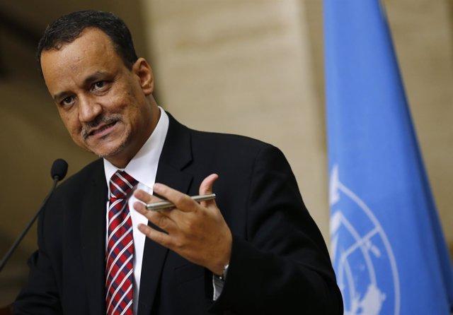 El enviado especial de la ONU para Yemen, Ismail Uld Cheij Ahmed