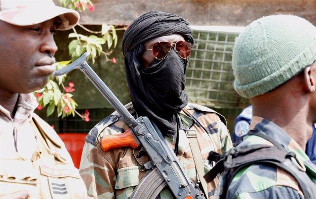 Soldados amotinados en Costa de Marfil