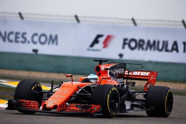 Fernando Alonso McLaren China