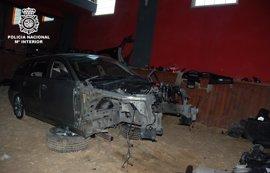 Desarticulado un grupo criminal que vendía por piezas vehículos de alta gama en Alcázar