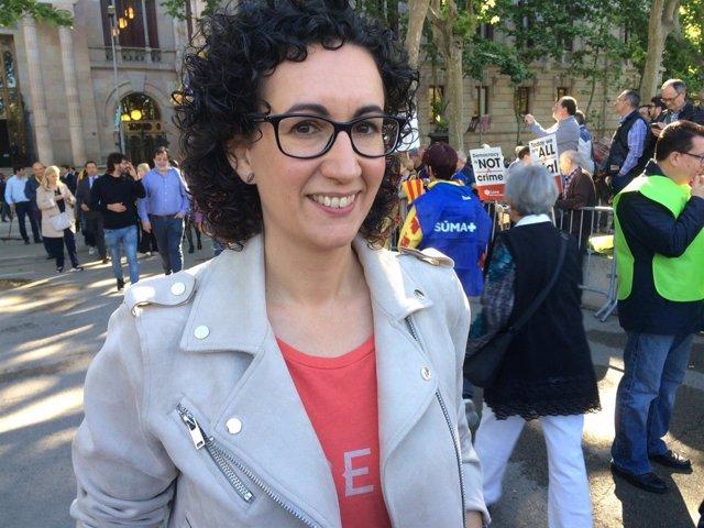 La portavoz de ERC, Marta Rovira