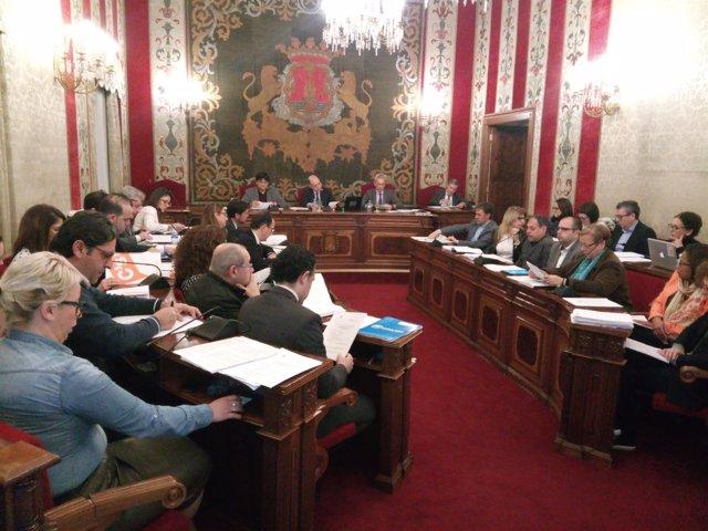 El pleno de Alicante, en una imagen de archivo
