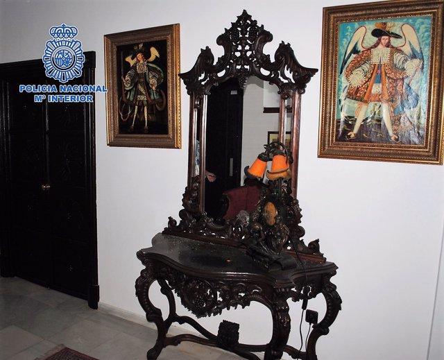 Muebles antiguos robados en Jerez