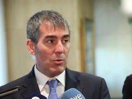 """Clavijo destaca el """"peso"""" de Canarias en el Congreso y avisa a NC por los PGE: """"Tenemos que ser responsables"""""""