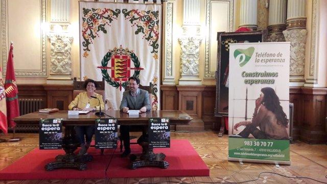 Valladolid. Presentación de la campaña de prevención del suicidio
