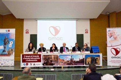 AMAC denuncia la falta de equidad entre las comunidades autónomas para formar a los pacientes anticoagulados