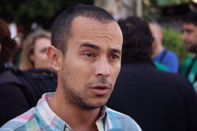 El responsable del área de Educación de IULV-CA, Fran Martínez Nieto