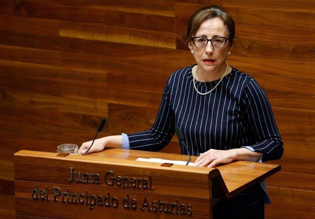 La consejera de Infraestructuras, Territorio y Medio Ambiente, Belén Fernández.