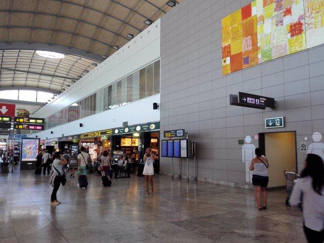 El aeropuerto de Alicante. Foto de archivo
