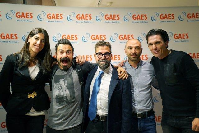 Luis Pasamontes, Carlota Castrejana y Valentí San Juan en las becas GAES
