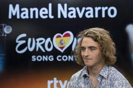 Manel Navarro actuará en la 16ª posición del Festival de Eurovisión