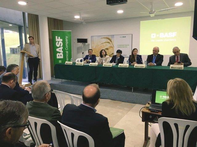 Inauguración de la jornada de Asaja Cádiz en Jerez