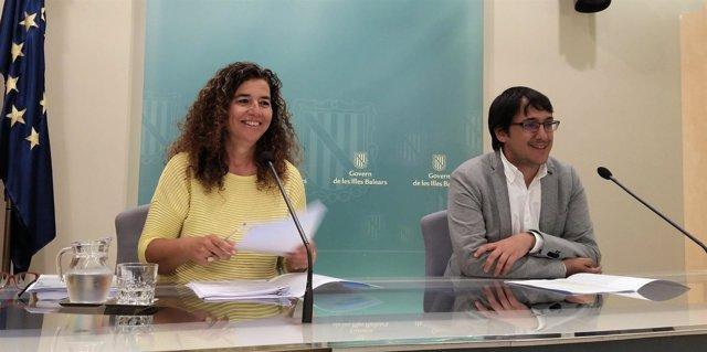 Costa y Negueruela presentan los acuerdos del Consell