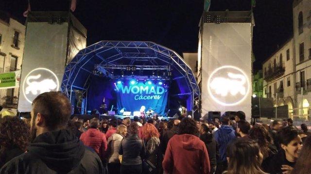 Primera jornada del festival Womad de Cáceres