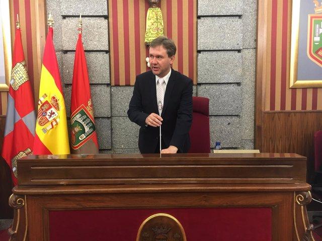 Burgos: Javier Lacalle en el Pleno