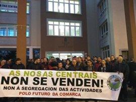 Trabajadores de las centrales de Ferroatlántica en la Costa da Morte piden una reunión a Conde