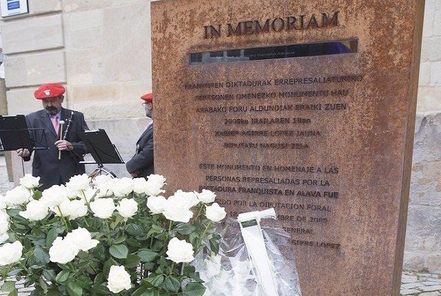 Monumento foral a las víctimas del franquismo