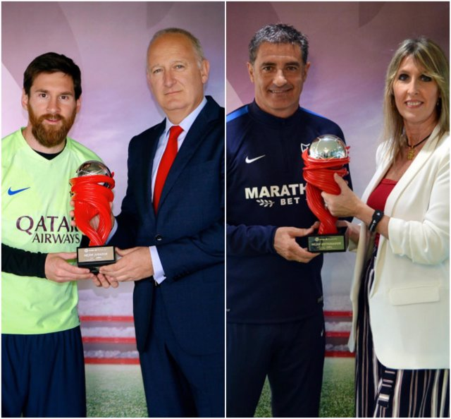 Leo Messi Míchel Barcelona Málaga premios LaLiga