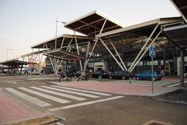 El Aeropuerto de Zaragoza registra en abril más de 42.000 pasajeros, un 21,2% más