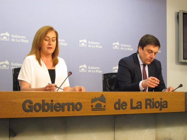 Martínez Arregui y Galiana informan del Consejo de Gobierno