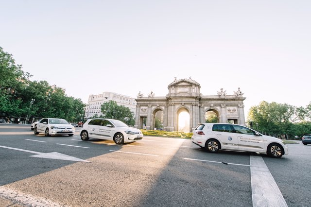 Volkswagen e-Golf en Madrid