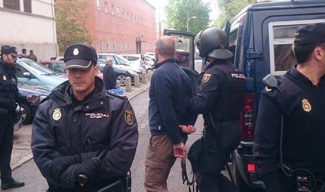 Una de las detenciones