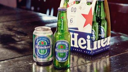 Heineken lanza su primera innovación a nivel mundial con Heineken 0,0, su primera cerveza sin alcohol
