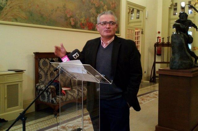 El portavoz del PI, Jaume Font