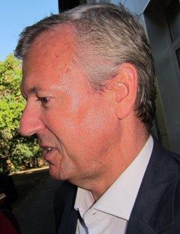 El vicepresidente de la Xunta, Alfonso Rueda