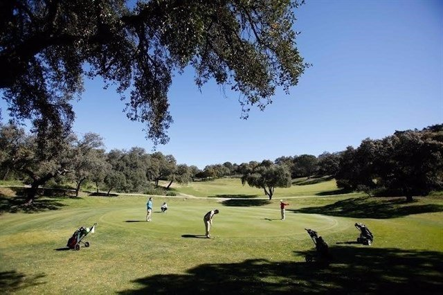 Campo de golf en una imagen de archivo