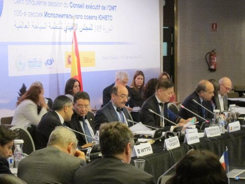 Reunión 105 del consejo ejecutivo de la OMT