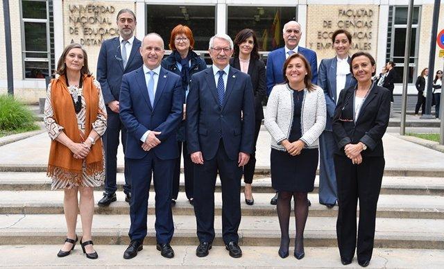 Nuevo equipo rectoral de la UNED