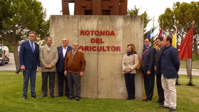 Inauguración de la Rotonda