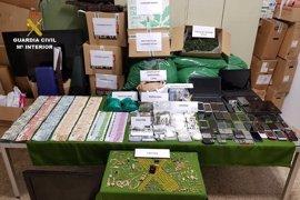 La 'operación Valley' culmina con 19 detenidos por tráfico de drogas y organización criminal