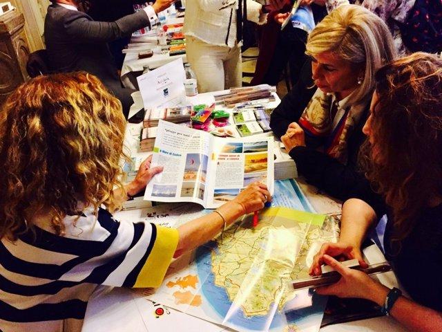 Jornadas del Patronato de Turismo en Italia