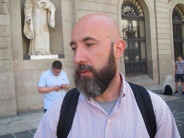 El concejal Josep Garganté