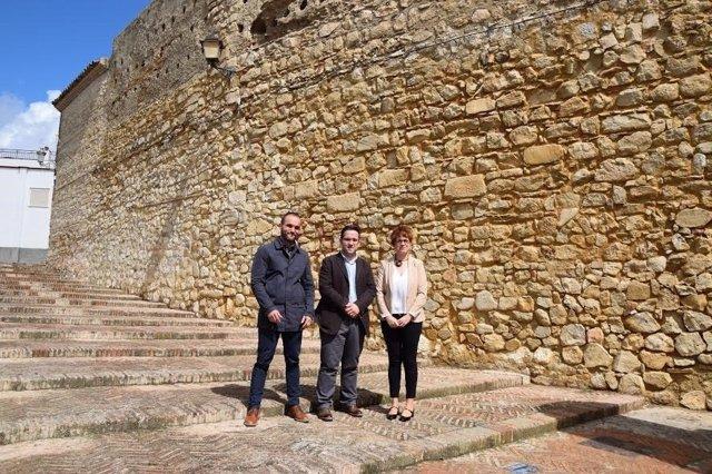 Ruz visita la muralla
