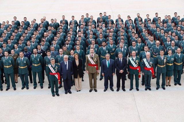 El Rey visita por primera vez la Academia de Oficiales de Aranjuez