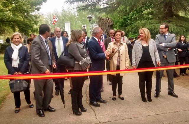 Inauguración de la Feria de Almazán.