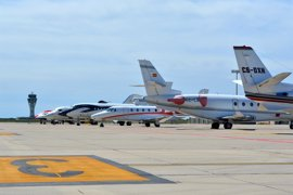 Los aeropuertos de Barcelona y Girona operarán 300 vuelos privados por la F1 este fin de semana