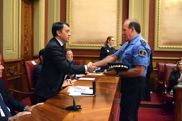 Reconocimiento a la Policía Local