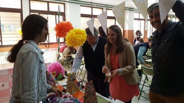 Ruiz visita el IES Miguel Crespo de Fernán Núñez