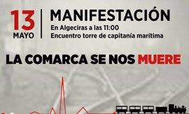 Partidos y sindicatos convocan a la ciudadanía campogibraltareña a la movilización por la Algeciras-Bobadilla