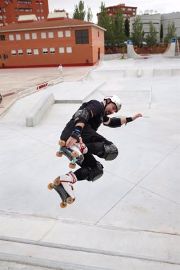 Presentación del centro de patinaje