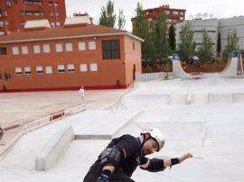 Inaugurado en Fuenlabrada un gran centro de patinaje, skate park y BMX de 1.700 metros que ha costado 350.000 euros