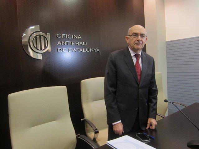 El director de la Oficina Antifraude de Catalunya (OAC), Miguel Ángel Gimeno