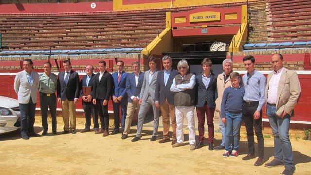 Presentación de la IV clase práctica en La Merced con Andrés Roca Rey.