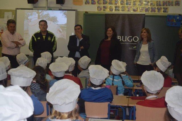 Actividad en un colegio de Aljaraque.