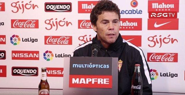 El Técnico Del Sporting De Gijón, Joan Francesc Ferrer 'Rubi