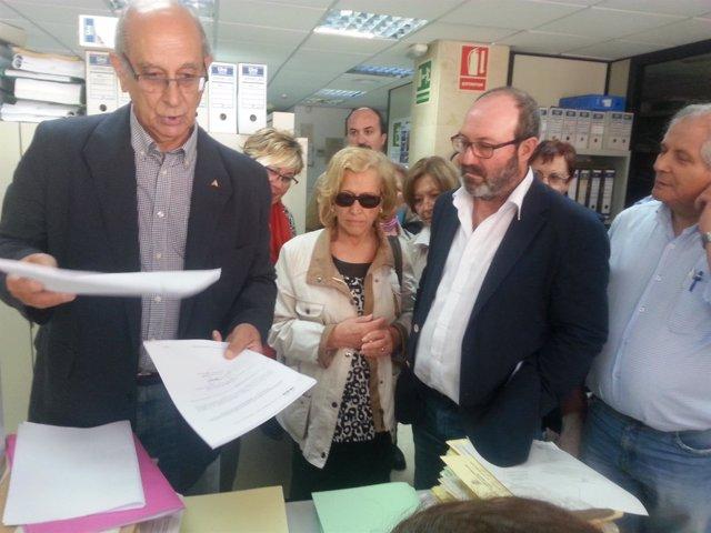 La Plataforma Recupera Tu Ría registra sus alegaciones al proyecto de Fertiberia